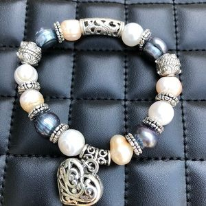🆕 Genuine brand-new South Sea pearl bracelet 3col